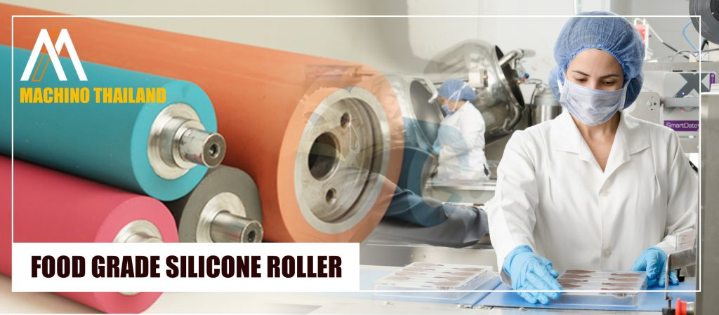 Rubber Roller/Silicone Roller Food Grade  Supplier